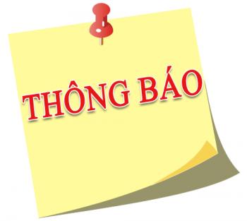 Thông báo 112 Về việc giới thiệu chức danh và chữ ký Trưởng phòng Phòng Giáo dục và Đào tạo huyện Bắc Tân Uyên